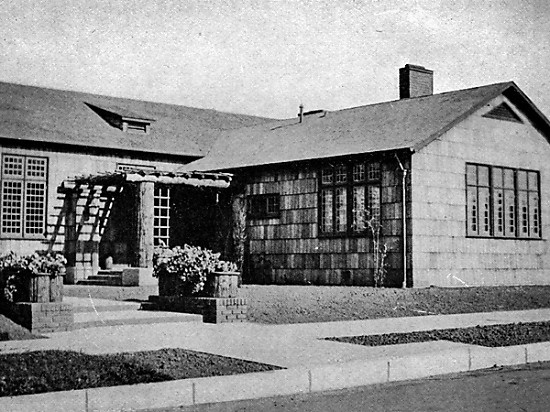 First Unitarian Church in Sacramento at 1415 27th Street, 1915