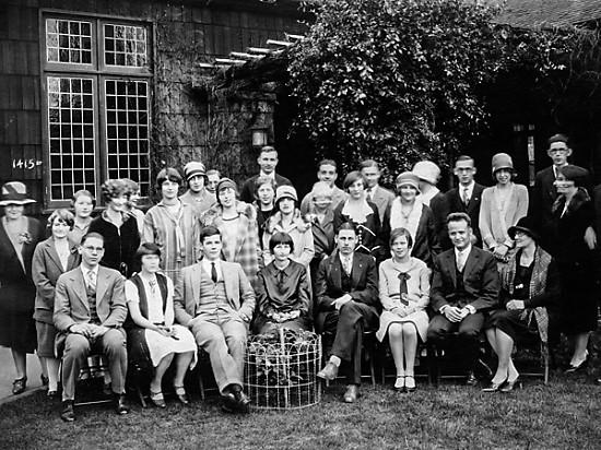 Sacramento Unitarian Society, 1922
