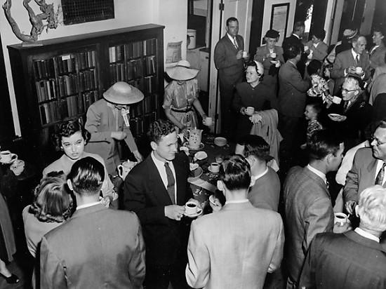 The Sacramento Unitarian Society 27th Street Coffee Hour, 1953