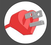 Love Plug Sticker3