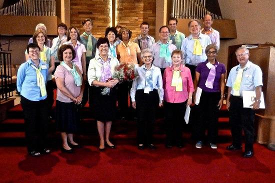 last choir day May 31, 2015