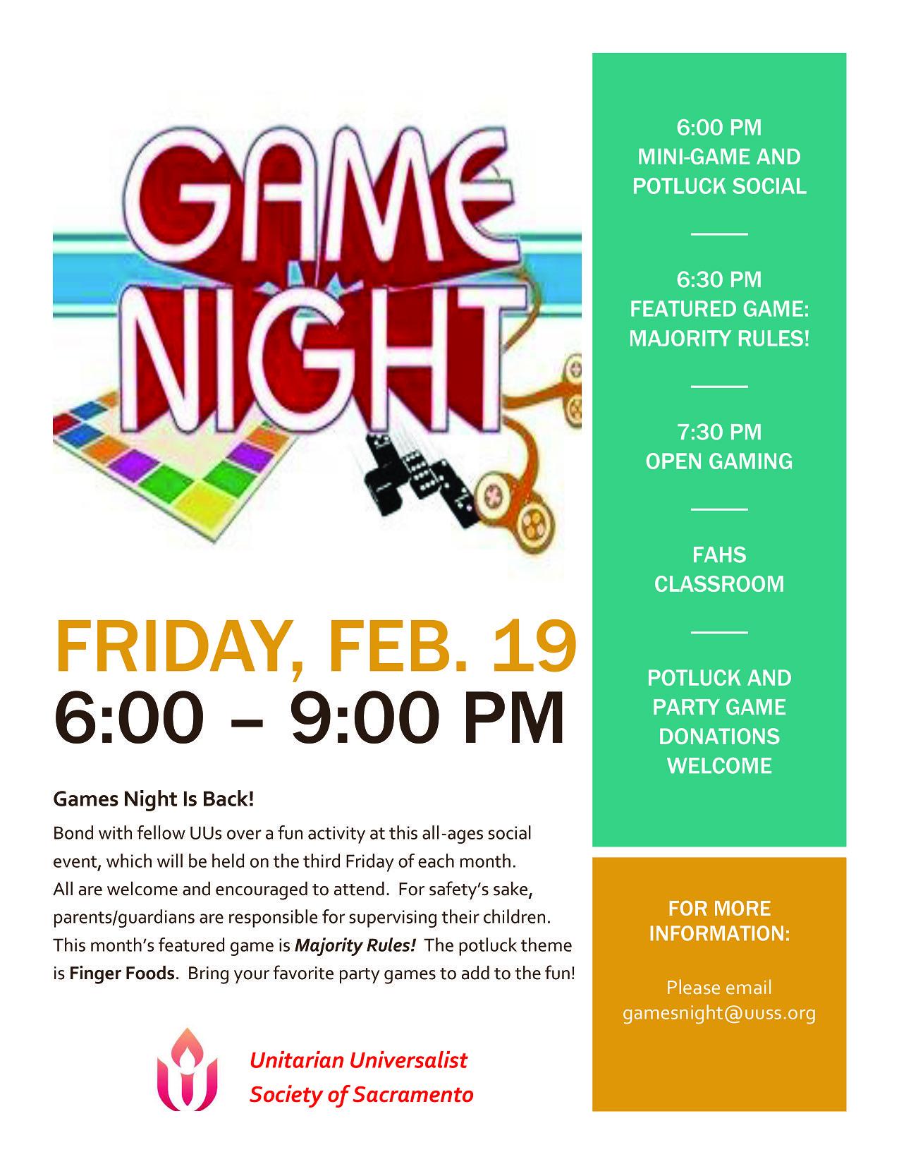 games night is back   u2013 uuss  u2013 a sacramento church
