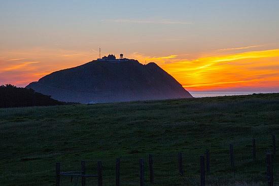 Point Sur Lighthouse, Sunset, 4-17-16