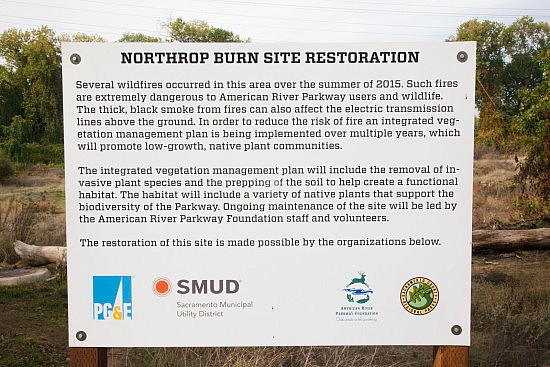 Notice of Burn Restoration on the UU Mile of the Parkway