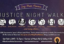BLM Justice Night Walk