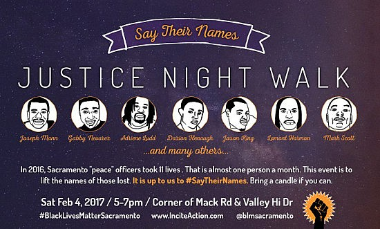 BLM Justice Night Walk