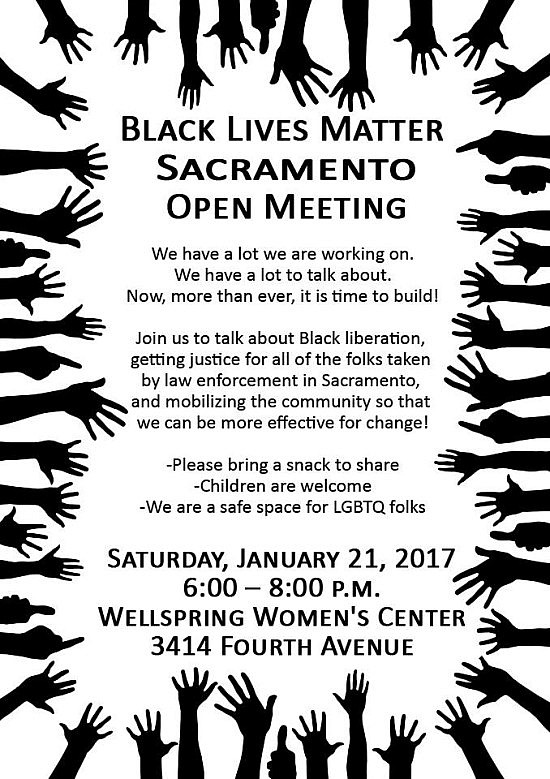 BLM open meeting