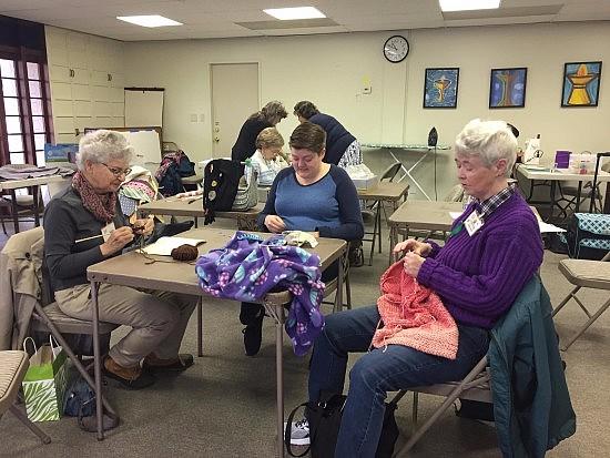 Saturday Stitchers 2 4 17 group