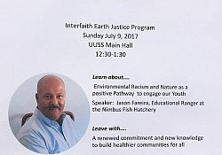 July 9 Environmental racism Jason Fareira event flyer in JPEG