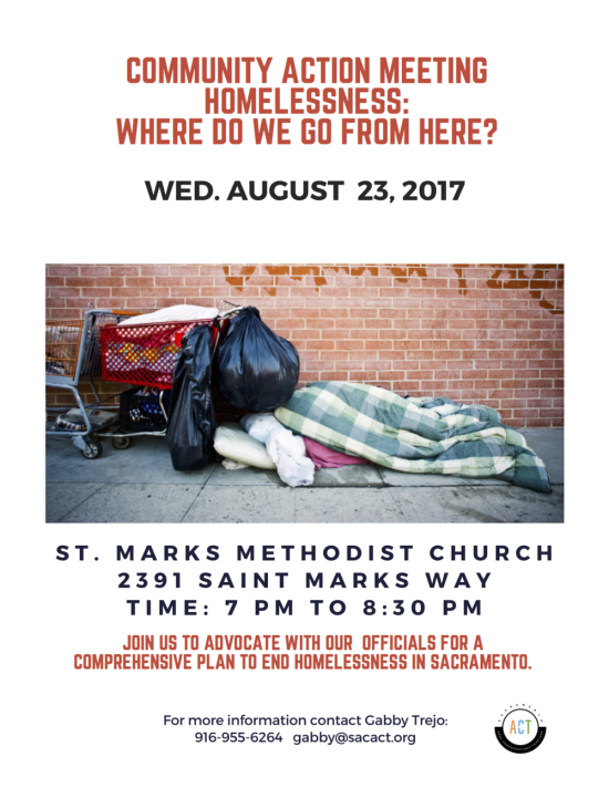 homeless event