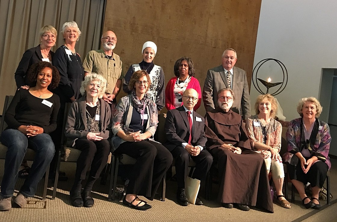 October 8 Interfaith Climate Forum Group Photo