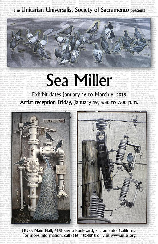 Sea Miller Poster 11x17