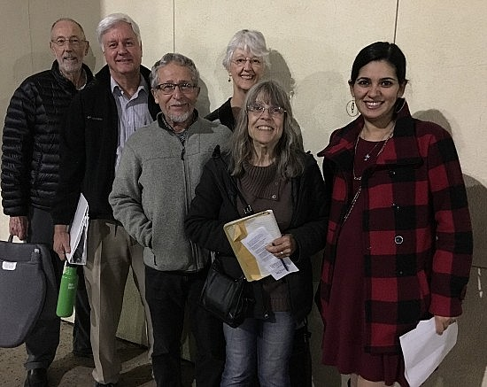 EJ group comments on scoping for Sac County EJ element 17 January 2018
