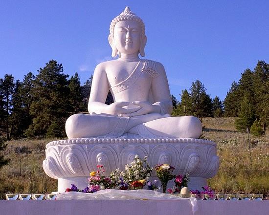 Pure Land temple statue -small size